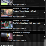 Mobile App For Vapourtrails.tv
